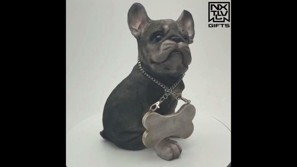 "10"" French Bulldog Puppy Sculpture"