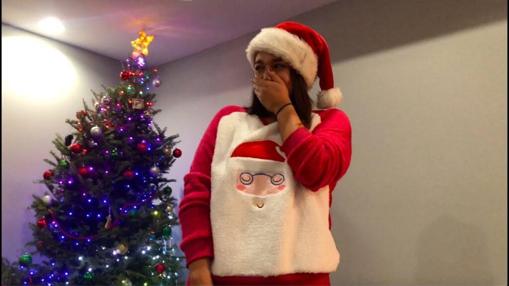 Christmas French Bulldog Surprise