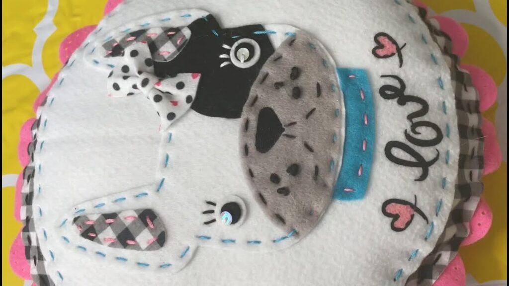 "Felt: American Girl Crafts ""French Bulldog Pillow"""