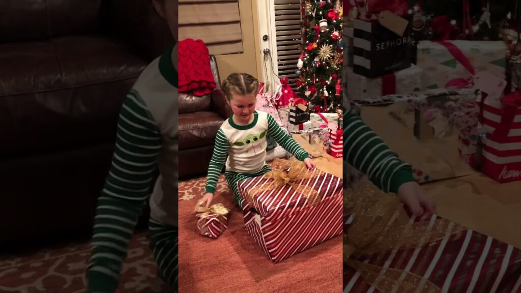 French Bulldog Puppy Surprise for Christmas – happy crying reaction