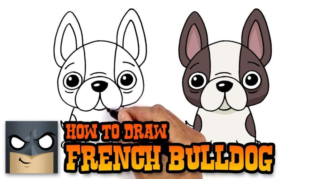 How to Draw a Dog | French Bulldog
