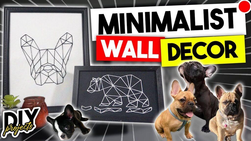 Minimalist Wall Decor – French Bulldog Inspo