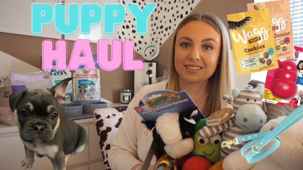 NEW PUPPY HAUL MARCH 2021 *EVERYTHING I BOUGHT FOR MY FRENCH BULLDOG PUPPY* Puppy essentials