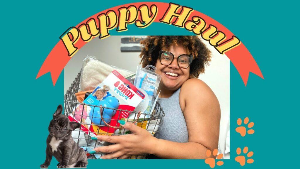 PUPPY HAUL 2021 | *NEW* French Bulldog Puppy Essentials