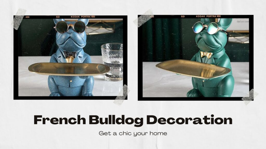 Statue French Bulldog Decoration – Your FRENCHIE SHOP